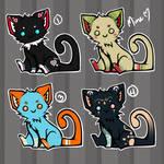 Derpy Kittens 3:4 OPEN by Click-error