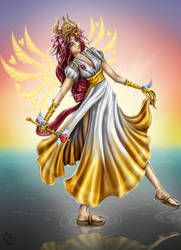 Gaia comish-Ishianti by bladesfire