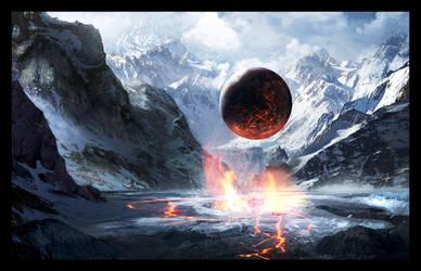 Valley of God Final by GeorgeLovesyArt