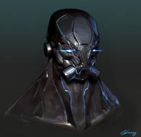 Cyborg by GeorgeLovesyArt