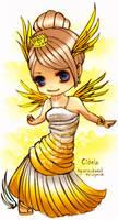 little chibi angel by unsolvedenigma