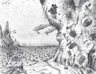 Zenith of Devonian Trilobites by Paleo-King