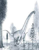 The real Futalognkosaurus by Paleo-King