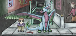 (Concept) Subway Tears - Dutch Angel Dragon by TrakyTuesdays