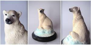 :.Polar Bear.: by XPantherArtX