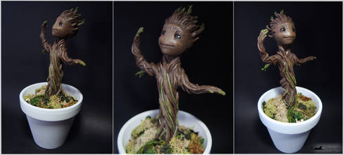 :.Baby Groot.: by XPantherArtX