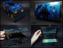 :.Deep Ocean box.: by XPantherArtX