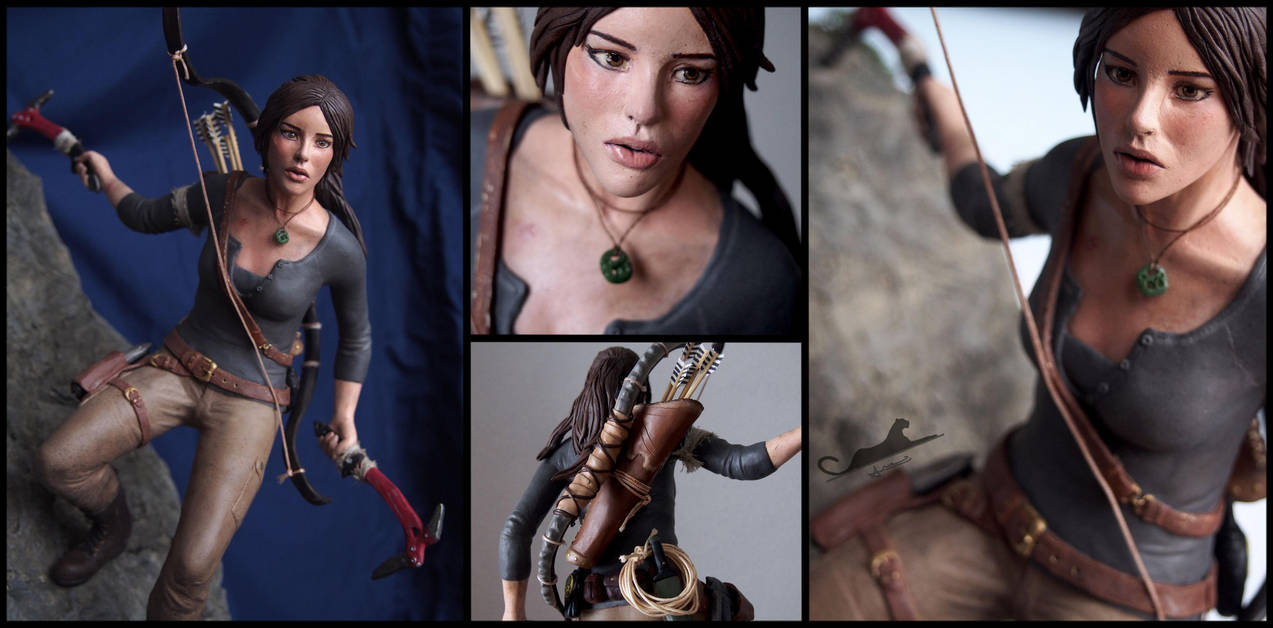 :.Miss Croft.: by XPantherArtX