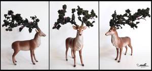 :. Forest spirits - Oak.: by XPantherArtX