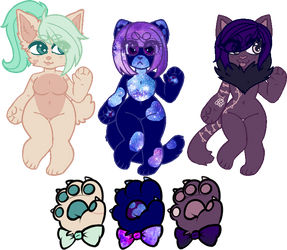 Kitty Adopts (2/3 Open) by AngelOShadows