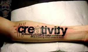 Creativity Tattoo by Kairy-Ma
