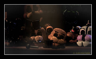 [SFM FNAF]  The story of the bear. by Gold-Bunny