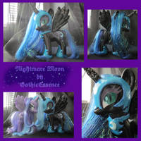 Nightmare Moon Custom by GothicEssence