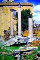 Pillars by ShiroiKrow