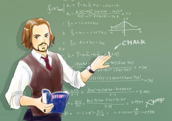 Math teacher by amoykid