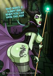 March Patreon Reward: Maleficent by MiloHornyck