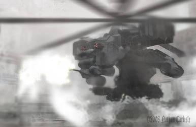 Hades Drone Gunship by ShamanX