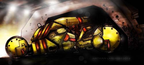 The Stiletto II by ShamanX
