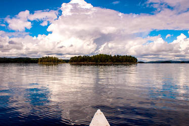 View on Swedish lake Stora Le by JoInnovate