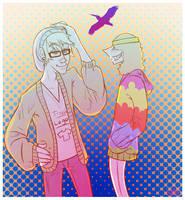Hipster or Hippy? by M-u-n-c-h-y