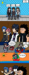 Fairy Tail watches School Days..... by Nemesis-the-Observer