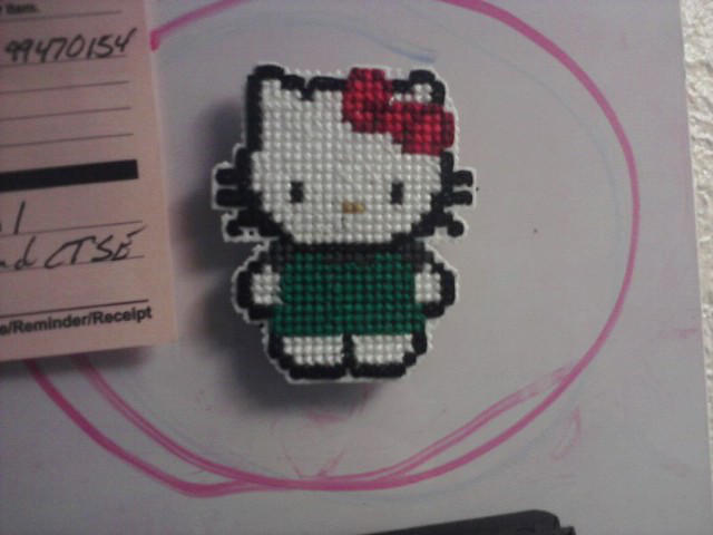 Hello Kitty Starbucks Magnet by Eimiisan