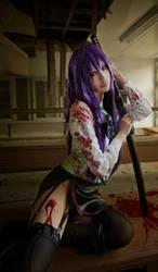 High School Of The Dead Saeko Busujima cosplay by twndomn