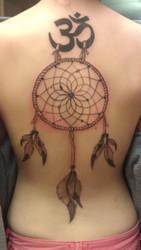 Back Tattoo by WildAnimeKittyKat