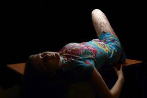 self-portrait by delynn