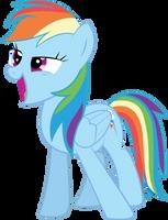 Rainbow Dash by paperprisma