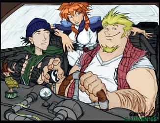 The Megas Gang - Colaberative by gadren