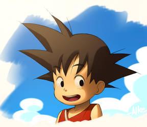 Goku by ALKEMANUBIS