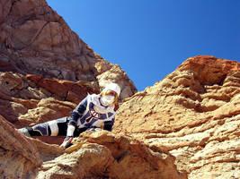 Climbing the Cliffs by seifer-sama
