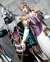 Zant and Puppet Zelda by seifer-sama