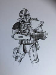 Imperial ARC Trooper by PossessedIron