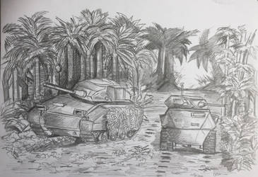 Armoured Manouvers by PossessedIron