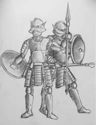 Jinsah Infantrymen by PossessedIron