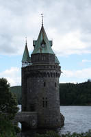 Vyrnwy Straining Tower Stock by XerStock