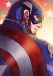 Captain America 2016 SketchCard by Future-Infinity