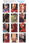 Marvel SketchCards by Future-Infinity