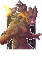 Rocket and Groot by Future-Infinity