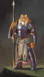 Tiger Warrior by Future-Infinity