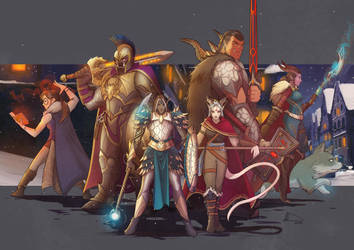 DnD Party Commission by Future-Infinity