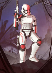 Stormtrooper Commander by Future-Infinity