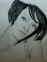 Rihanna by TinasArtwork