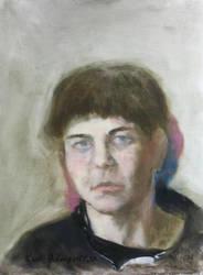 Ae.M portrait Evelina H... W by kvh