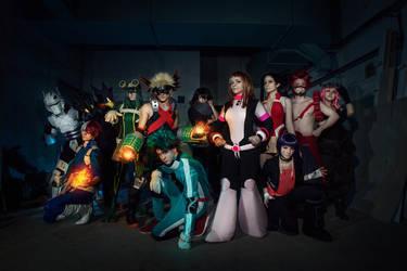 Boku no Hero Academia by Vis-Vitalis