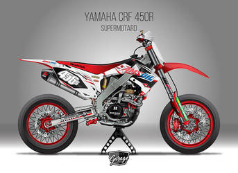 Honda Crf450 Supermotard By Sergiotoribio On Deviantart