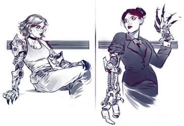 Specialized prosthetics by Vetyr