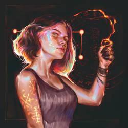 Burnt sigil by Vetyr